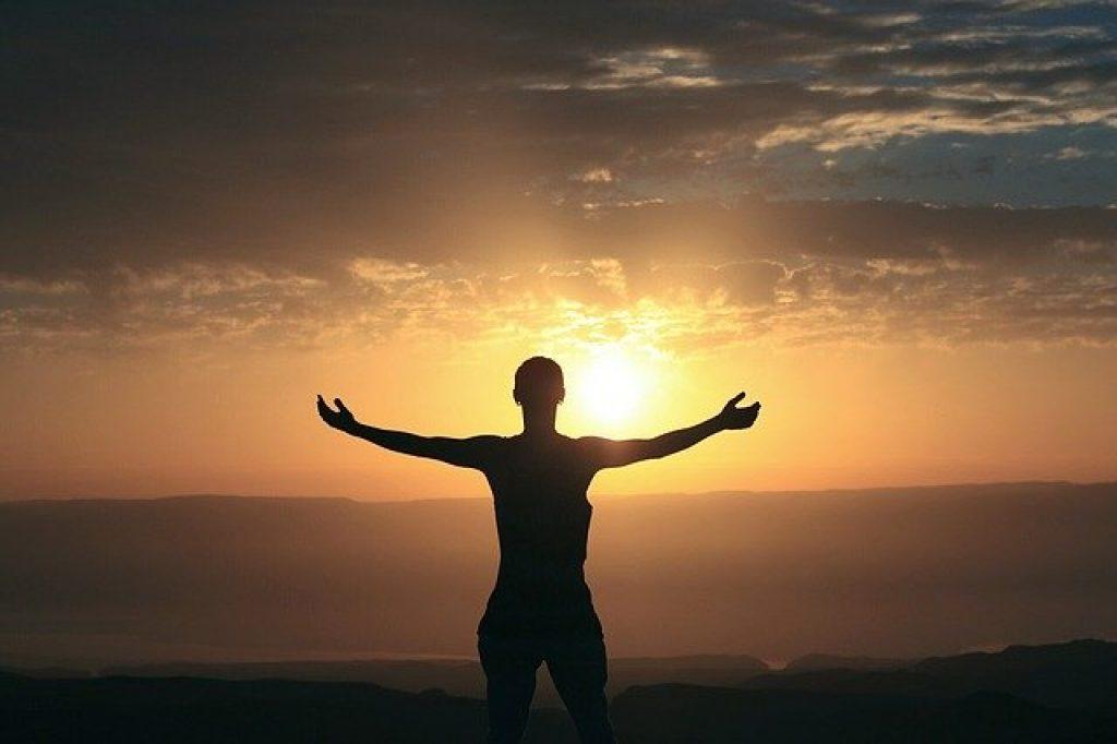 Yoga Sonnenaufgang