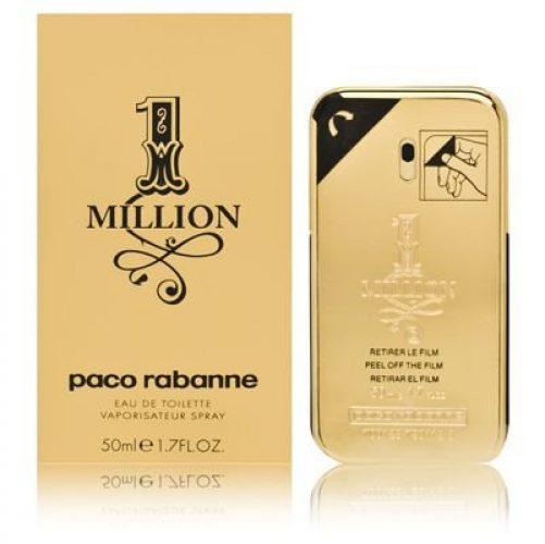 Paco Rabanne Parfüm Herren One Million Eau de Cologne 50ml ...